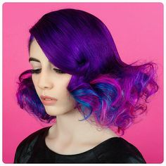Эти фиолетовые волосы сводят с ума!