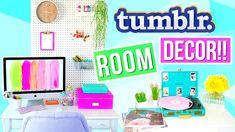 DIY Tumblr Room Decor + Organization 2016! Alisha Marie - Peg Board and How To Decorate It, Door Knob Jars