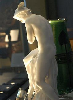 Parian porcelain figure of Mercury by Minton & Co (the Minton archive is under threat) see http://www.artfund.org/mintonarchive/