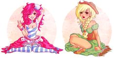 earth pony gijinka by ponymonster.deviantart.com on @deviantART