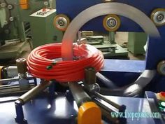 Hose coil and pipe coil packing machine&stretch wrapping machine
