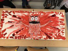 Monster Activities, Writing Activities, Activities For Kids, Reception Class, Emotion, Monster Art, Eyfs, Art Plastique, Primary School