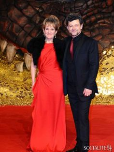 Andy Serkis - Celebrities Attend 'The Hobbit: The Desolation Of Smaug' Premiere In Berlin