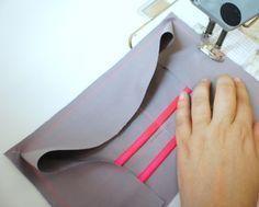 Tuto pochette organiseur de sac couture