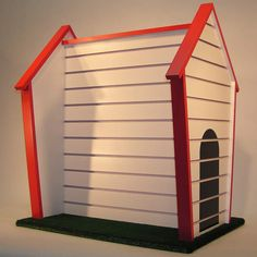 Do I need a slatwall doghouse? No. But isn't that nifty??