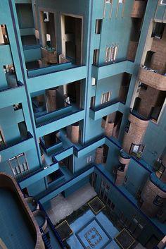 Walden 7, Ricardo Bofill and Taller de Arquitectura, Barcelona, 1974