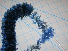 Yarn Lei - single straw and one color