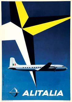 Alitalia Poster