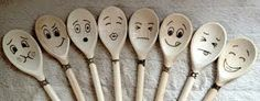 wooden spoon pyrography - Google Search