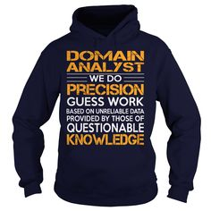 (Tshirt Discount Today) Awesome Tee For Domain Analyst [Tshirt design] Hoodies, Funny Tee Shirts