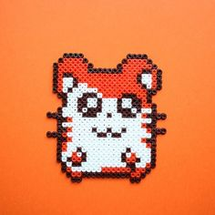 Hamtaro hama perler beads by Little Miss Productive