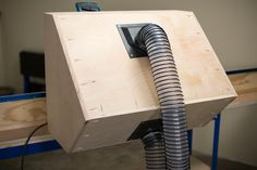 Miter Saw Dust Hood - buildsomething.com