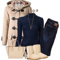 A fashion look from November 2014 featuring Balmain sweaters, Burberry coats and American Eagle Outfitters jeans. Browse and shop related looks.