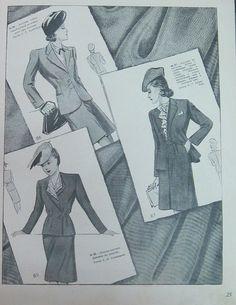 Интересные детали мод 1940-х годов (трафик) / История моды / ВТОРАЯ УЛИЦА