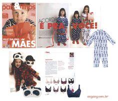 Saímos no editorial da revista Pais & Filhos, com looks de arrasar!