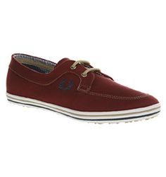 Burgundy Boats by Fred Perry.