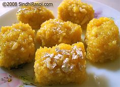 Singhar jhi mithai(sev ki mithai): Sweet made with unsalted chickpea flour strands and milk solids