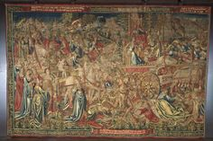 The Triumph of Death over Chastity, Brussels, 1507-1510