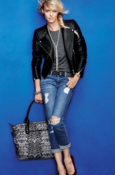 Black & White Zebra Tote Bag | How Does She Do It Tote | Stella & Dot click to shop @ www.stelladot.com/loriakowalik