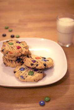 Birthday Party Smartie Cookies.  No birthday party necessary!