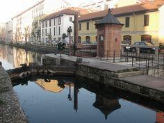 Milano, naviglio e chiusa,   #TuscanyAgriturismoGiratola