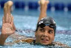 Krisztina Egerszegi (born in Budapest, Hungary) is a Hungarian former… 1988 Olympics, Summer Olympics, Celebrity Photography, Heart Of Europe, Olympic Athletes, Olympic Champion, Michael Phelps, Iconic Women, Budapest Hungary