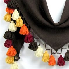 Tassel Necklace, Tassels, Jewelry, Fashion, Jewlery, Moda, Jewels, La Mode, Tassel