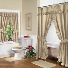31 best bathroom shower curtains matching window treatments rh pinterest com