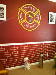 Firefighter Room - Boys' Room Designs - Decorating Ideas - HGTV Rate My Space--love it!!