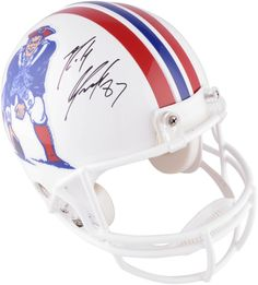 Rob Gronkowski New England Patriots Autographed Throwback Pro-Line Helmet - Authentic Signed Football Helmets For Sale, Nfl Football, Rob Gronkowski Patriots, Patriots Sign, Nfl Photos, Nfl Gear, Nfl History, Nfl Jerseys, National Football League