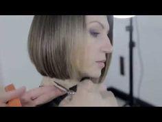Aprenda a fazer um corte de cabelo curto feminino estilo bob - YouTube