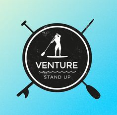 Hiking Logo, Surf Logo, Surf Shack, Logo Design, Graphic Design, Photo Logo, Surf Girls, Paddle Boarding, Logo Inspiration