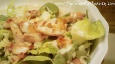 Meal of the Day! Low Fat/Low Carb Chicken Caesar Salad :P