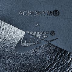 ACRONYM®️ x Nike (@erlsn.acr) Clothing Packaging, Clothing Labels, Id Design, Label Design, Hang Ten, Textiles, Banners, Print Finishes, Leather Label