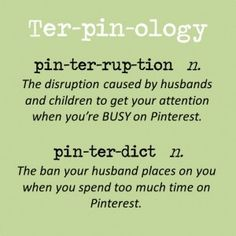 Pinterest language: Words by Pinfan