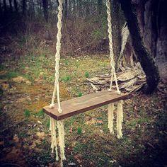 Macrame Hanging Swing