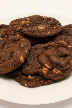 Chewy Chocolate Peanut Butter Chip #Cookies #Recipe