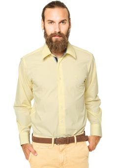 Camisa Aleatory Basic Amarela - Marca Aleatory