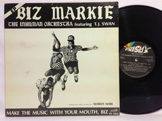 """Biz Markie Make The Music With Your Mouth Rap Hip Hop 12"""" EP Vinyl Record Prism"""