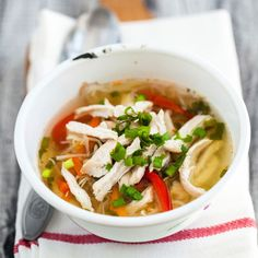 Spicy Bajan Chicken Soup--- This soup has turmeric in it which is anti-inflammatory.