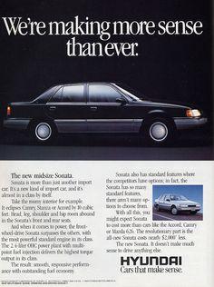 1989 Hyundai Sonata Sedan - Productioncars.com