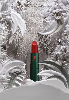 NEW & EXCLUSIVE Lipstick Queen Jungle Queen Lipstick is a nourishing formula in bright coral that's designed to flatter all complexions and take you effortlessly from day to night.