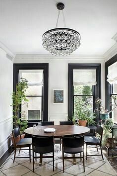 Black window trim