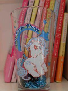 Un verre my little pony déniché chez Urban outfitters