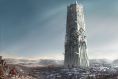ArtStation - Desert Tower, Colin Chan