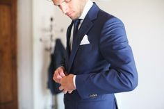 navy blue suit for the Groom | Photography by http://velvetine.nl   Read more - http://www.stylemepretty.com/2013/08/07/italy-wedding-from-velvetine-photography/