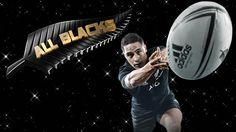 """All Blacks rugby """"Wallpaper"""" created by Gordon Tunstall using Adobe Photoshop 2015"""