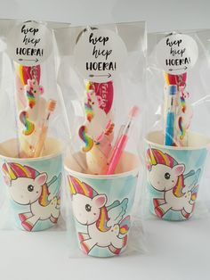 Classroom Birthday Treats, Birthday Snacks, Unicorn Birthday Parties, Birthday Party Favors, Unicorn Party, Fun Crafts For Kids, Gifts For Kids, Build A Bear Party, Class Birthdays