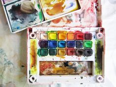 """""""Sketching 101"""" info from Alisa Burke - plus watercolor, collecting, and journaling tips.  Awesome resource!!"""