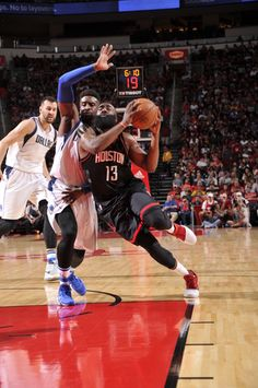 super popular 8242d f2bb2 Dallas Mavericks v Houston Rockets James Harden, Dallas Mavericks, Houston  Rockets, Nba,